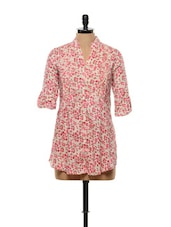 Pretty Pink Floral Shirt - Gritstones