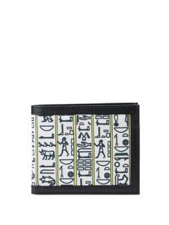 Egyptian Hierogylphs Wallet - Poppuri