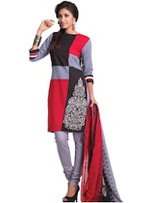 Stylish Cotton Unstitched Dress Material - Ethnic Vibe