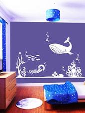 Under Water World Wall Art ( White ) - DeStudio