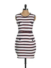 Sailor Stripes Day Dress - CHERYMOYA