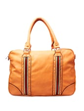 Stylish Tan Brown Laptop Bag - Ligans NY