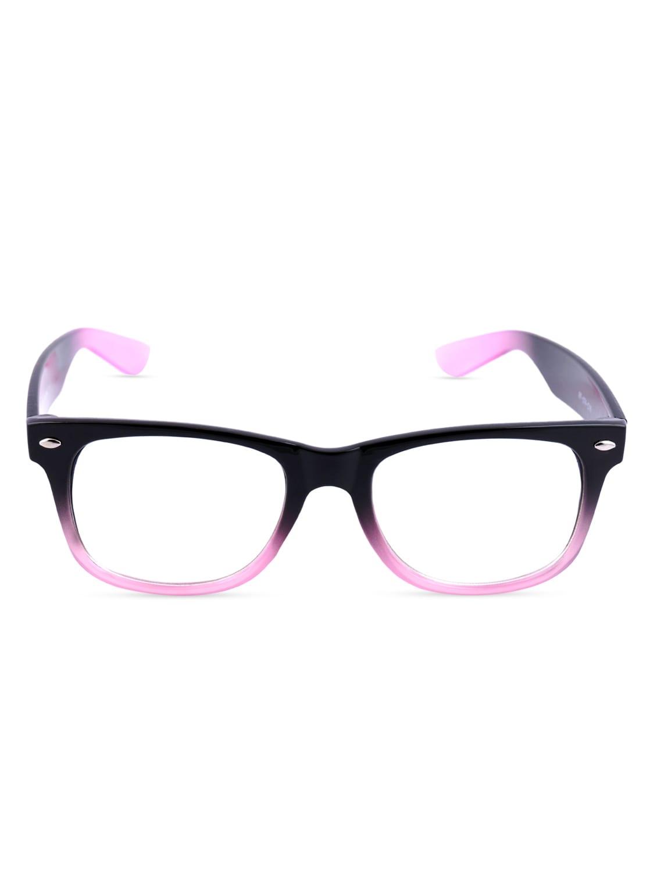 Black And Pink Wayfarer Sunglasses - By