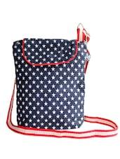Blue Star Patterned Sling Bag - Be... For Bag