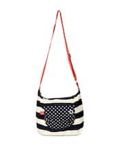 Blue Stripes Sling Bag - Be... For Bag