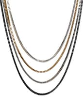 Multi-layer Metal Chain Necklace - ESmartdeals