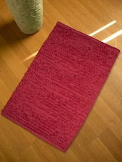 Set Of 2 Red Floor Rugs - HOUSE THIS