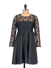 Black Lace Dress - Shakumbhari