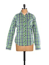Check Mate Green Shirt - Fast N Fashion