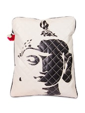 Black And White Buddha Print Laptop Sleeve Bag - The House Of Tara