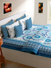 Beautiful Pattern Double Bed Cover - HOUSE THIS