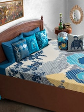 Blue Royal Bed Cover - HOUSE THIS