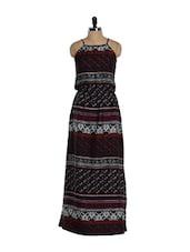 Floral Maxi Dress - Purys