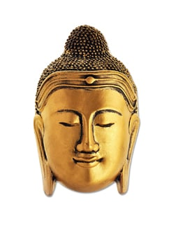 Serene Buddha Mask (medium) - Gifts & Souveniers
