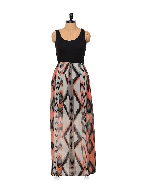 Print Play Maxi Dress - Femella