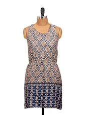 Multi-colored Printed Dress - La Zoire