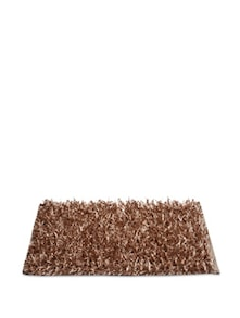 Brown Fur Floor Mat - Cosmos Galaxy