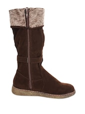 Trendy Brown Boots - Stylistry