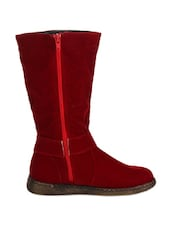 Stunning Red Boots - Stylistry