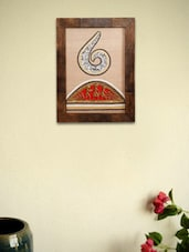 Warli Hand Painted And Dhokra Work Silk Painting - Unravel India