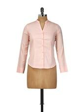 Peach Formal Shirt - Meira