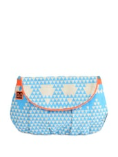 Blue Geometrical Patterned Sling Bag - Be... For Bag