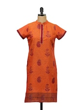 Paisley Print South Cotton Kurti - KYLA F