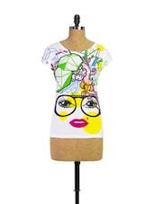 Unique Printed Girly Tunic - Trendy Girlz
