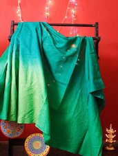 Gorgeous Green Silk Saree - RiniSeal