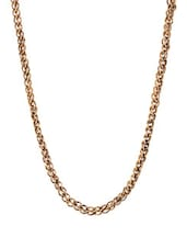 Silver Gold Chain Necklace - Blend Fashion Accessories