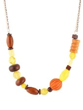 Theo Yellow Necklace - Blend Fashion Accessories