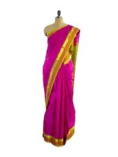Fantastic Pink Silk Saree - Pothys