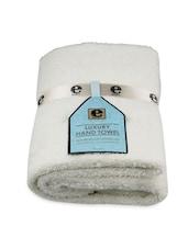 White Luxury Hand Towel - E-cloth