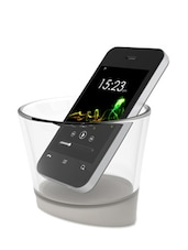White Smart Cup Smartphone Amplifier - Bewater