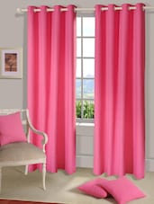 Eden Pink Window Curtain - HOUSE THIS