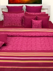Berry Pink Bed Cover Set - HOUSE THIS