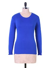 Dark Blue Winter Top - Renka