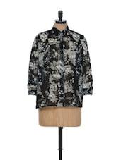 Black Floral Shirt - Purys