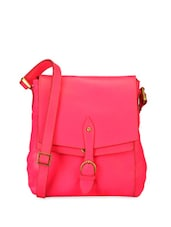 Bright Pink Classy Sling Bag - Phive Rivers