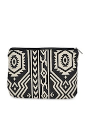 Black And White Printed Coin Purse - Art Forte