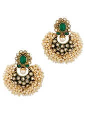 Stunning Pair Of Chandbaali Earrings - Voylla
