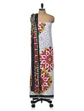 Geometric Floral Printed Suit Set - Ethnic Vibe