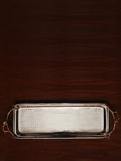 Rectangular Tray With Gold Handle - The Yellow Door