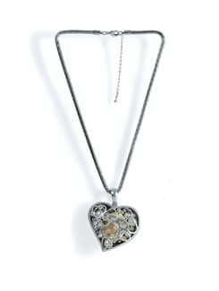 Heart-shaped Pendant Necklace - Tribal Zone