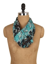 Floral Multi Print Scarf - J STYLE