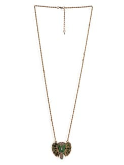 Elephant Trunk And Ears Necklace - Tribal Zone