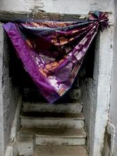 Purple Plush Jacquard Saree - BANARASI STYLE