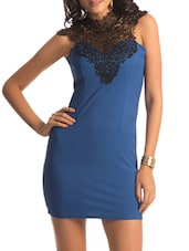 Blue Lace Turtle Dress - PrettySecrets