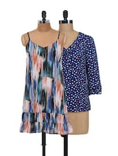 Hearty And Arty Top And Dress Set - @ 499