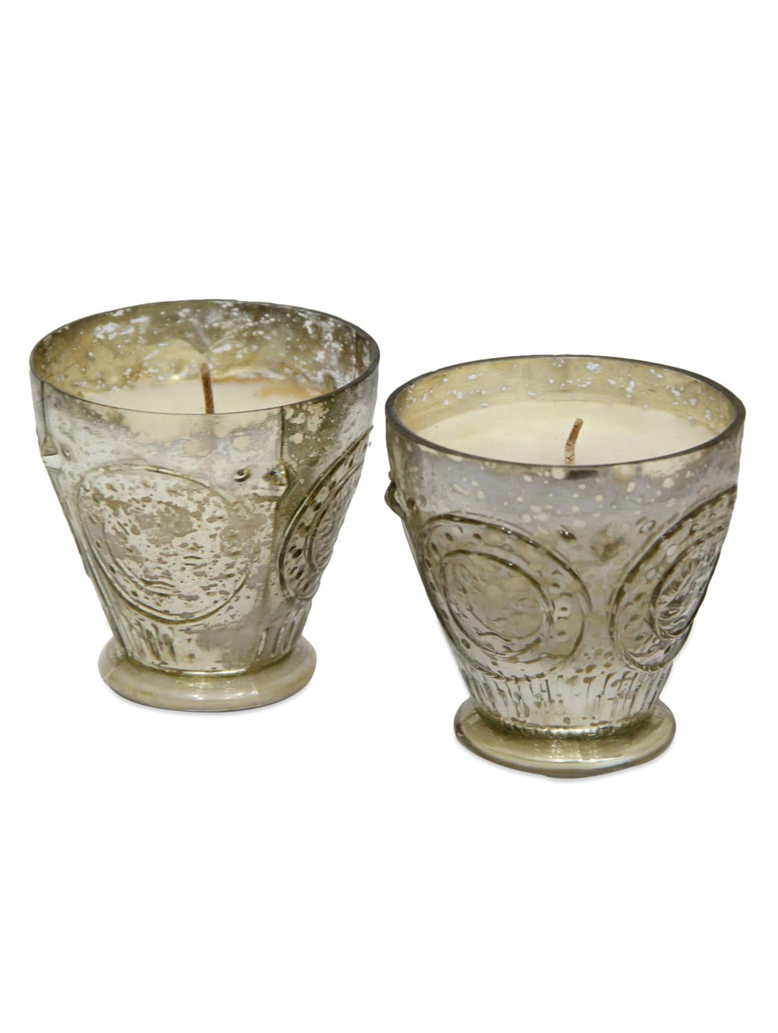 Antique Glass Candle Glass Votives - Gifts By Meeta